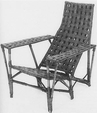 Armchair, Cane And Rattan, Imperial Rattan Company, Stratford, Ontario, C.  1928